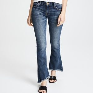 Current Elliott The Flip Flop Jean Flare Frayed